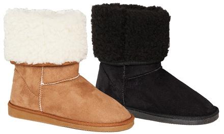 Bottes d'hiver confortables pour femme, pointure et coloris au choix, à 22,99€ (62% de réduction)