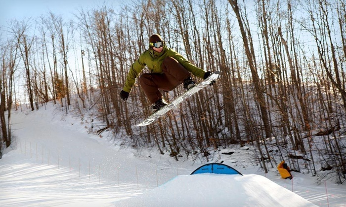 Treetops Resort - Northern Michigan: One-Night Stay with Group Ski Clinic and All-Day Ski Passes for Two at Treetops Resort in Gaylord, MI