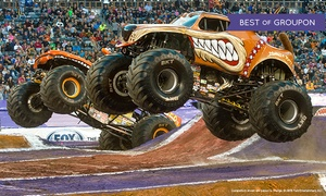 Monster Jam – Up to 25% Off Monster Truck Show at Monster Jam, plus 6.0% Cash Back from Ebates.