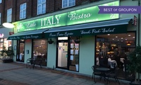 Three-Course Italian Dinner for Two or Four at Little Italy Bistro (Up to 37% Off)