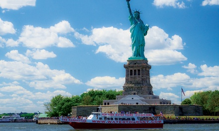 Downtown Liberty Cruise for One or Two with New York Water Tours (Up to 54% Off)