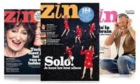 5 of 10 nummers Zin Magazine, abonnement stopt automatisch