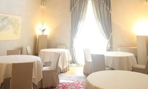 I Caffi: Menu di 9 portate con bottiglia di vino per 2 persone al ristorante I Caffi, stellato Michelin (sconto 60%)
