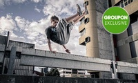 Parkour Packages: Intro ($19), Ninja ($59) or Preschool ($29) at Flow Academy Of Motion, 2 Locations (Up to $117 Value)