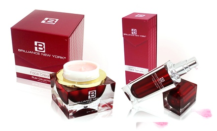 Ruby Collection Diamond Peptide Face Cream, Serum, or Both