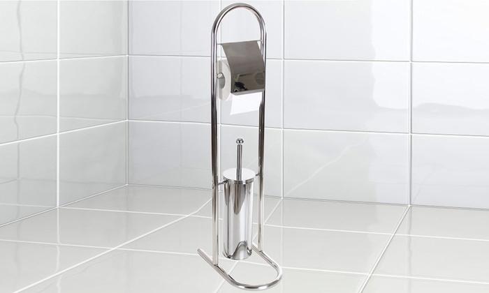 Piantana da bagno groupon - Portarotolo bagno ...