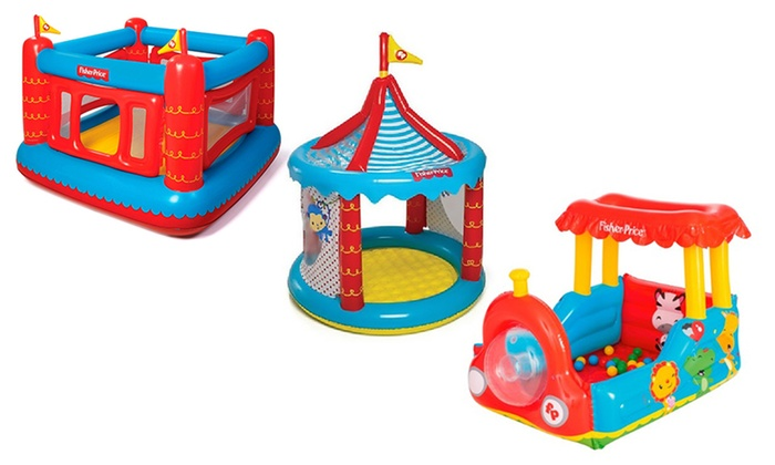 Fisher Price Inflatables Groupon