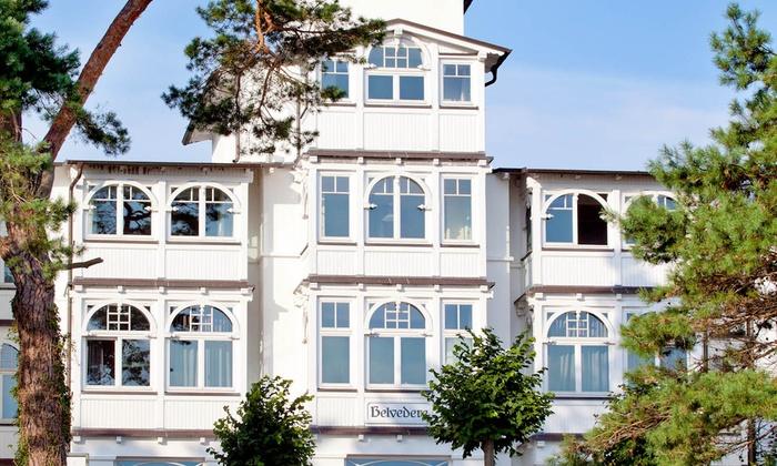 Hotel Villa Belvedere - Hotel Villa Belvedere: Rügen: 3 bis 8 Tage für Zwei in der Suite, mit HP im Hotel Villa Belvedere