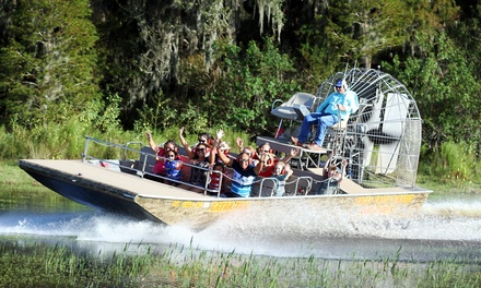 Up to 62% Off at Boggy Creek Airboat Adventures