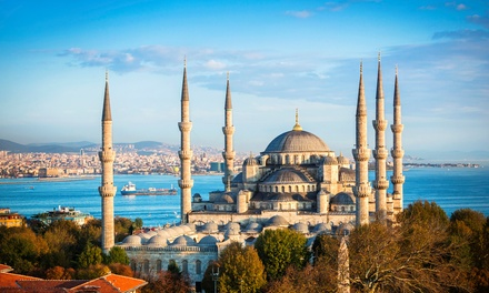✈ Istanbul: 35 Nights with Flights and an Optional Bosphorus Cruise*