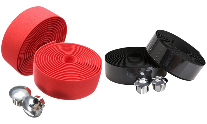 Cork Handlebar Tape and Bar Plug Set (3-Piece)