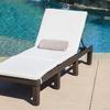 Estrella Outdoor Adjustable Chaise Lounge