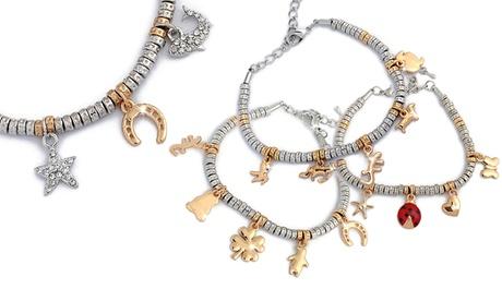1 o 2 bracciali Funny Charms Be-Jewels disponibili in 5 modelli