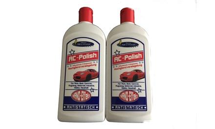 2x 500 ml AC-PolishHochglanzversiegelungmit Reinigungstuch (Koln)