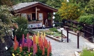 Giardino Botanico di Oropa: Ingresso oasi WWF per 2 adulti o famiglia dal 1 maggio al 14 ottobre al Giardino Botanico di Oropa (sconto fino a 50%)