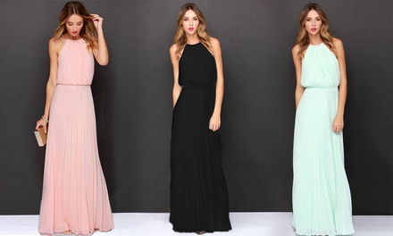 Chiffon Maxi Dress: One $19 or Two $33