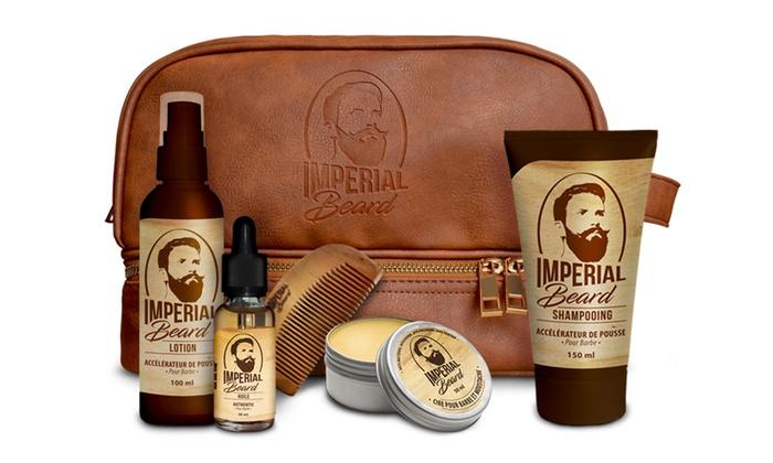 imperial beard kit de rasage groupon shopping. Black Bedroom Furniture Sets. Home Design Ideas
