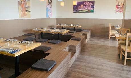 Buffet libre japonés a la carta para 2 de martes a domingo en Ninki Sushi (44% de descuento)