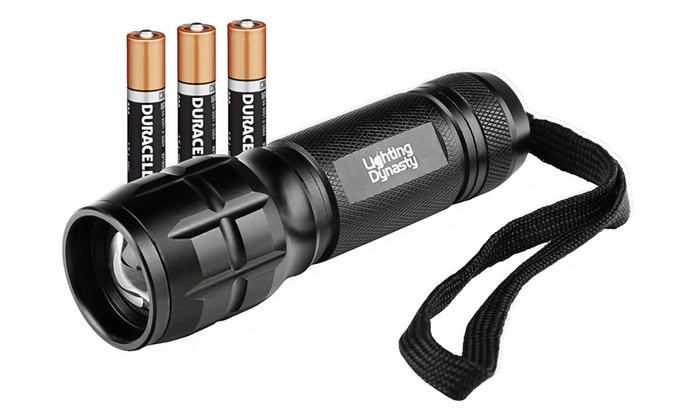 LED Torch with Adjustable Focus