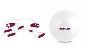 Set extenseurs/boule yoga Kettler