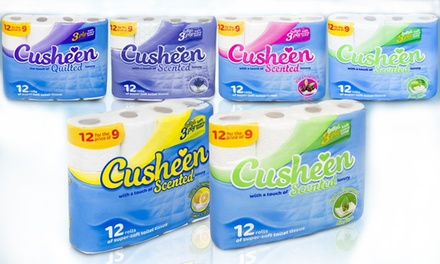 Cusheen Three-Ply Toilet Rolls