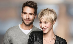 Fantastic Sams: Cut and Style Package with Optional All-Over Color and Take-Home Styling Kit at Fantastic Sams (Up to 48% Off)