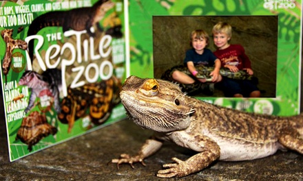 General Admission for Two or Four and Photos with a Snake at The Reptile Zoo (Up to 51% Off)