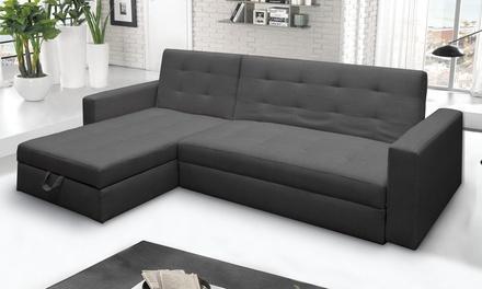 Fino a 50 su divano letto a 3 posti con penisola groupon for Divano letto isola