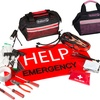 Stalwart Emergency Roadside Kit with Travel Bag (55-Piece)