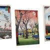 Utagawa Hiroshige Prints on Gallery-Wrapped Canvas