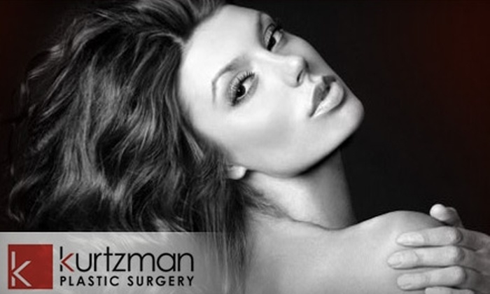 Kurtzman Plastic Surgery - Kenwood: $35 for a Micropeel with Dermaplaning ($75 Value) or a Customized Clinical Facial ($70 Value) at Kurtzman Plastic Surgery