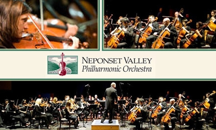 Neponset Valley Philharmonic - Wrentham: $14 for One Ticket to Neponset Valley Philharmonic Orchestra's Spring Concert on March 21
