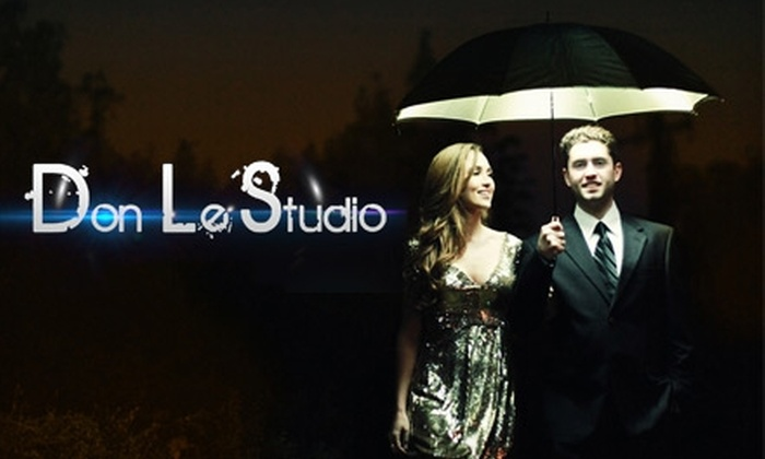 Don Le Studio - Fountain Valley: $65 for One-Hour Photography Session and Choice Between Two Print Packages at Don Le Studio