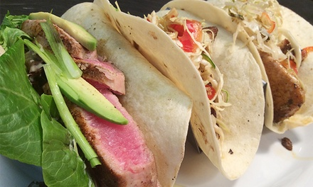 Tex-Mex Cuisine at Jaco's Tacos (50% Off)