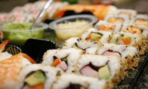 Plateau de sushis variés à emporter