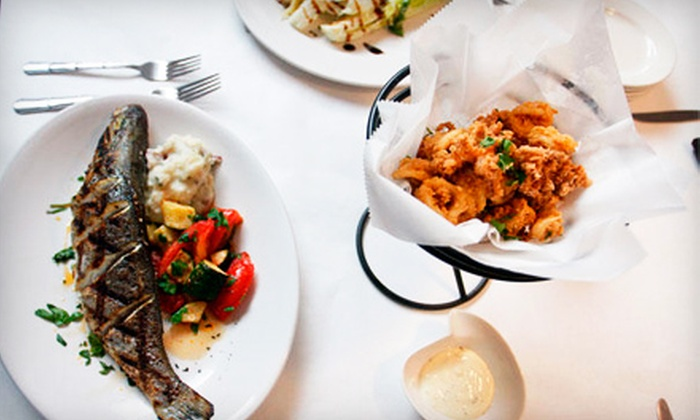 Chef Tony's Restaurant - Bethesda: $39 for an Mediterranean Prix Fixe Dinner for Two at Chef Tony's Restaurant in Bethesda (Up to $83.30 Value)