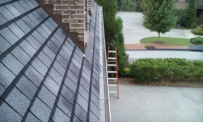 Atlanta's Best Gutter Cleaners - Downtown: $80 for a Full Gutter and Roof Cleaning from Atlanta's Best Gutter Cleaners