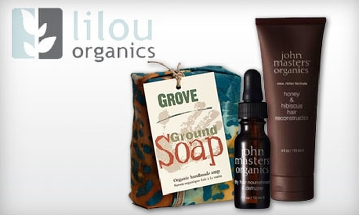 Lilou Organics: $15 for $30 Worth of Organic Cosmetics, Toiletries, Fair-Trade Jewellery, and Gifts from Lilou Organics
