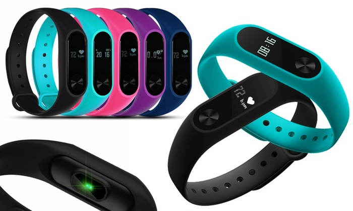 Aquarius AQ112 Fitness Tracker with HRM for Kids and Adults in Choice of Colour for £9.98