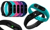 Groupon Goods Global GmbH: Aquarius AQ112 Fitness Tracker with Heart Rate Monitor for Kids and Adults in Choice of Colour