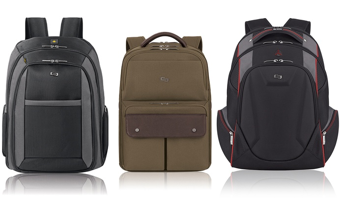 Solo Pro Laptop Backpacks