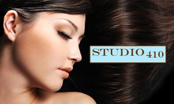 Studio 410 - Fort Wayne: $60 for a Brazilian Keratin Treatment and a Haircut at Studio 410 ($120 Value)