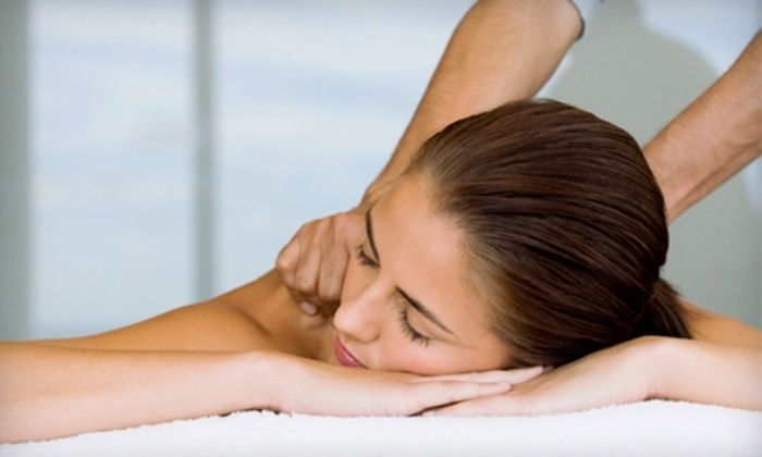 Prestige Salon & Spa - Waterville: $87 for a Microdermabrasion Treatment and One-Hour Massage at Prestige Salon & Spa in Plymouth (Up to $174 Value)