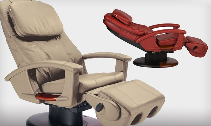 Refurbished Massage Chair human touch massage chairs | groupon goods
