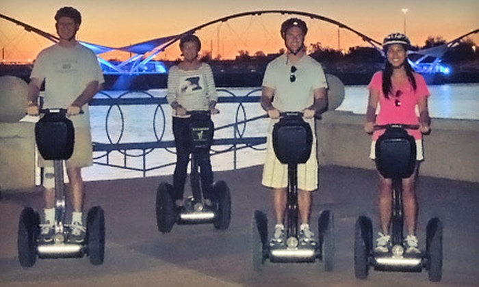 Segway of Scottsdale - Multiple Locations: 90-Minute Evening Segway Tour of Tempe Town Lake or Desert Ridge for One, Two, or Four from Segway of Scottsdale (Up to 54% Off)