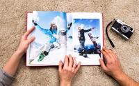 Hardcover-Fotobuch Classic im A4-Hochformat mit bis zu 72 Seiten von Colorland (bis zu 74% sparen*)