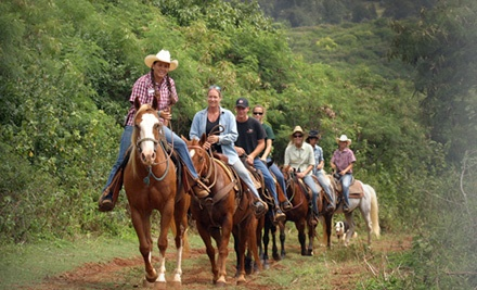 1.5-Hour Sunset Horseback Ride for 1 (a $99 value) - Gunstock Ranch in Laie