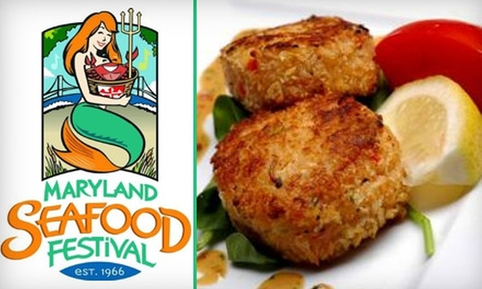 Maryland Seafood Festival - 3: $12 for Two One-Day General Admission Tickets to the Maryland Seafood Festival, Held September 10–12 ($24 Value)