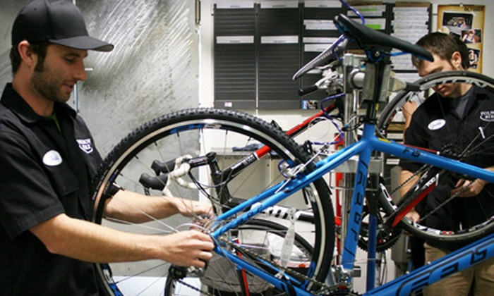 Folsom Bike - Folsom: Basic or Performance Bike Tune-Up or 24-Hour Hybrid-Bike Rental at Folsom Bike (Up to 52% Off)