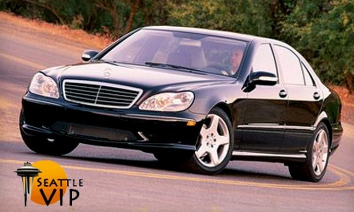 Seattle VIP Transportation - Broadway: Mercedes Transportation from Seattle VIP Transportation. Five Options Available.